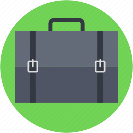 briefcase, luggage, portfolio, satchel bag, suitcase icon