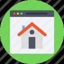 e commerce, home, online property, online real estate, website