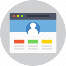 monitor, responsive web, web designing, web template, wireframe icon