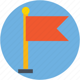 destination flag, ensign, flag, flagpole, location flag icon