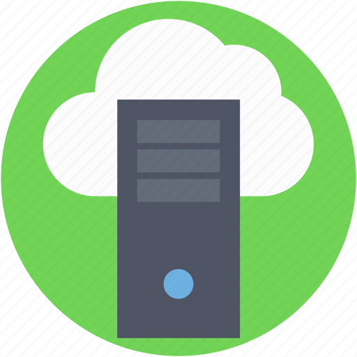 cloud server, data cloud, icloud, network, server rack icon