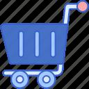cart, empty, shopping
