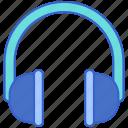 audio, headphones, music, sound