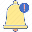 bell, message, notification