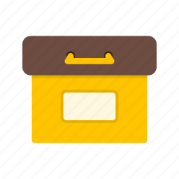 archive, data, digital, document, file, folder, information icon