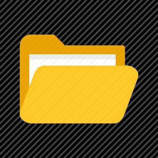 document, file, folder, information, interface, storage, web icon
