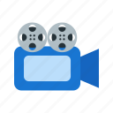 camera, digital, film, image, lens, travel, video icon