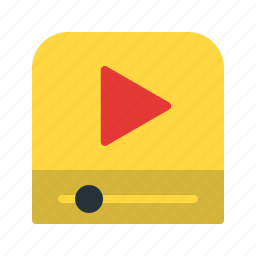 media, movie, music, play, player, sound, video icon