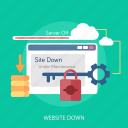 cloud, error, maintenance, repair, under maintenance, update, website down icon