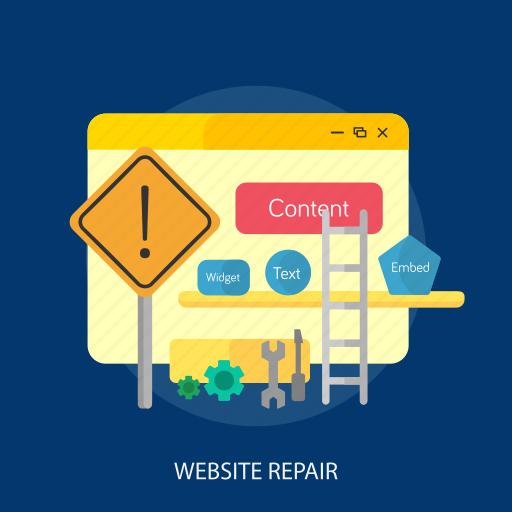 maintenance, online, process, setting, update, upgrade, website repair icon