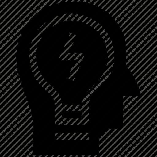 business, business idea, creative, head, idea, imagination, marketing icon