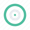 bullseye, content, digital, marketing, target icon
