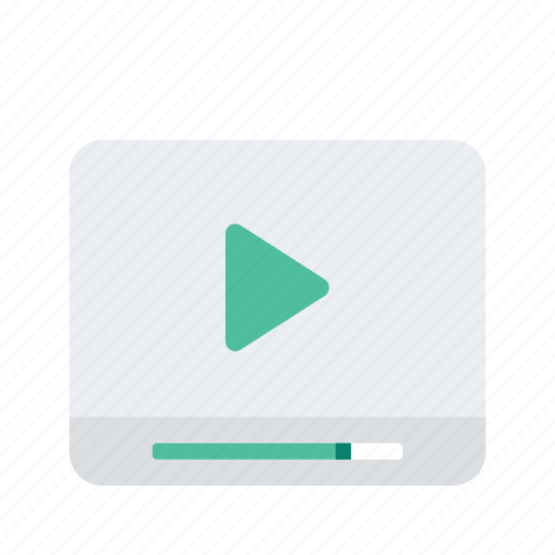 content, digital, marketing, multimedia, video icon