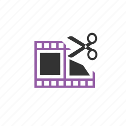 ad, clip, edit, media, web icon
