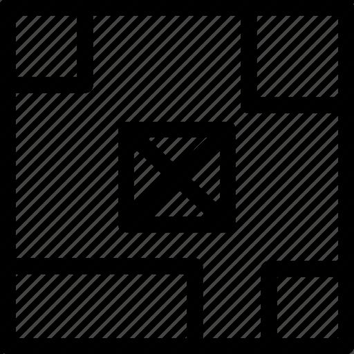 art, board, content, design, grid icon