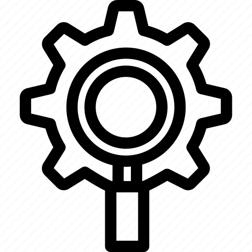 engine, optimization, process, search, seo icon