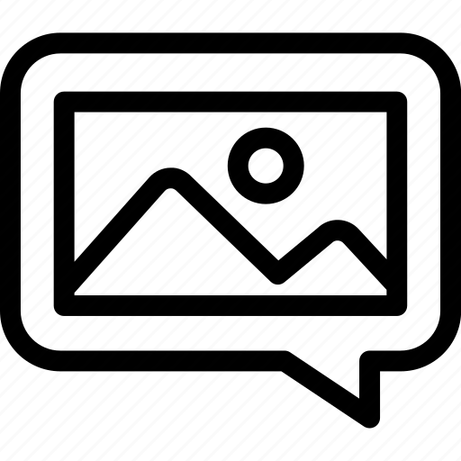 chat, design, discussion, feedback, image icon