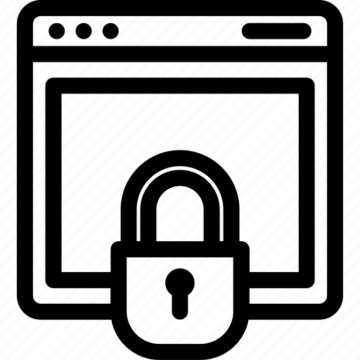 connection, data, network, private, security icon