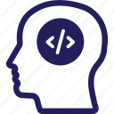avatar, coder, developer, engineer, profile icon