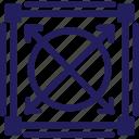 design, field, grid, prototype, scale icon
