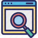 analysis, audit, check, search, success icon