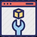 api, application, platform, programming, sdk icon