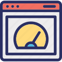 load, page, performance, speed, time icon