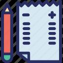 check, checklist, form, list, project icon