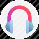 communication, earphone, hands free headset, headphone, headset icon