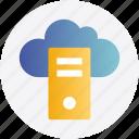 cloud computing, concept, data, global cloud, network, server icon