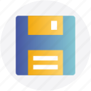 disk, documents, file, floppy, office icon