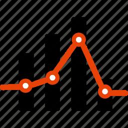 bar, chart, diagram, graph, seo, stat, statistics icon
