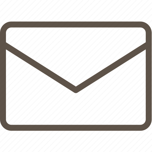letter, line, mail, ui icon