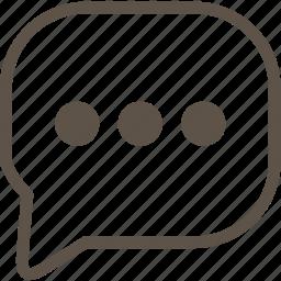 comment, line, ui icon