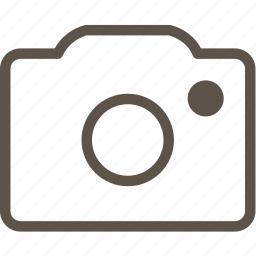 camera, line, photo, ui icon