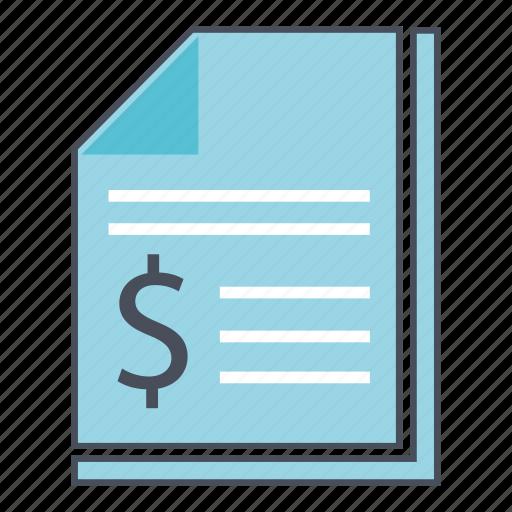 financial, report, seo, web icon