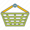 basket, seo, web icon