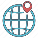 geo, location, seo, web icon