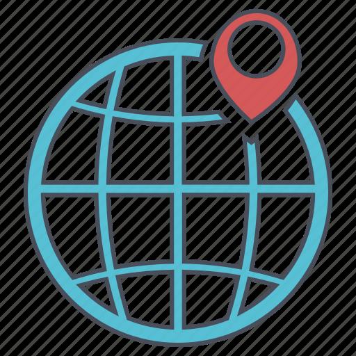 geo, location, seo, web icon