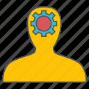 human, resources, seo, web icon
