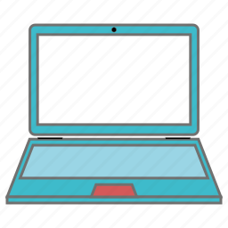 laptop, seo, web icon