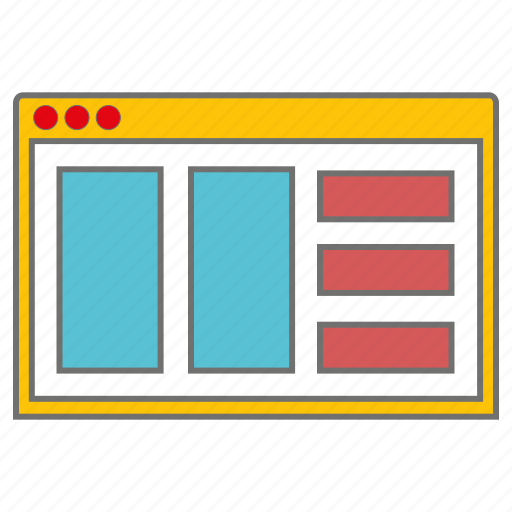 layout, seo, web icon