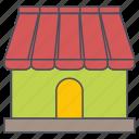 market, seo, web icon