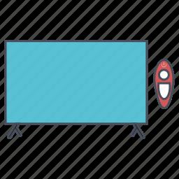 seo, smart, tv, web icon