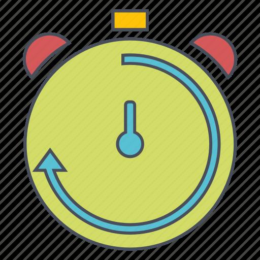 seo, timer, web icon