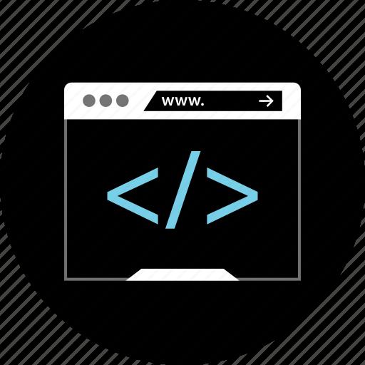 coding, debug, tool icon