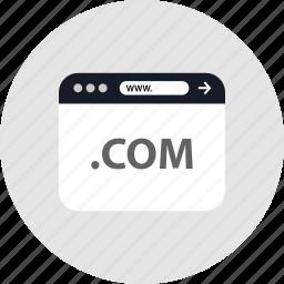 code, com, development, www icon
