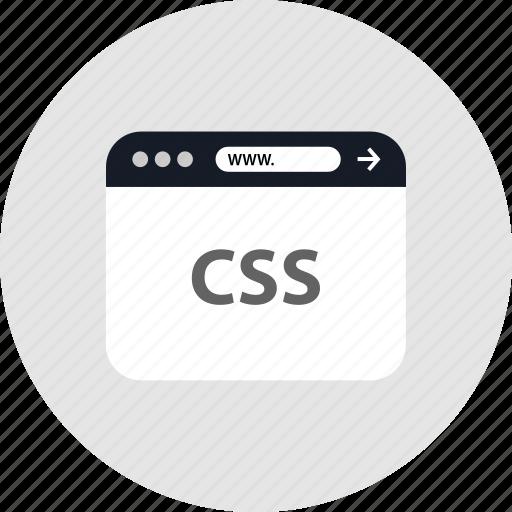 code, css, development, www icon