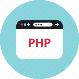 php, web, www icon