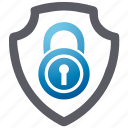 lock, security, shield, spyware icon